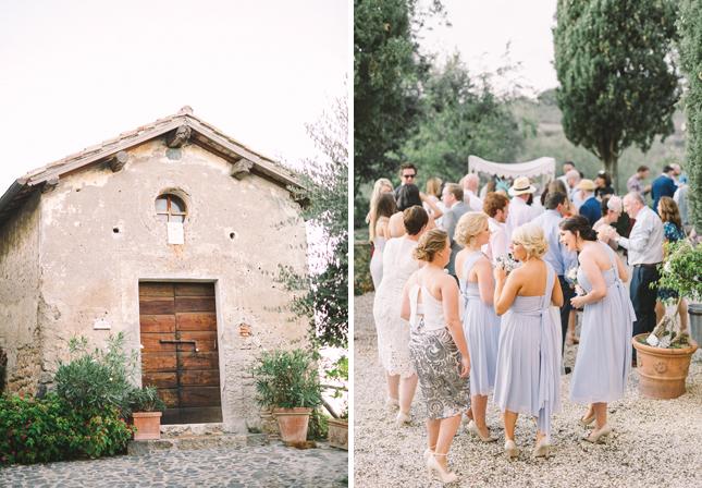 Siobhan Owen Borgo di Tragliata Rome wedding